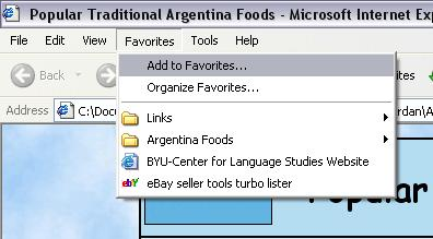 Bookmark popular traditional Argentina food recipes!